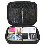 YSAGi Tragetasche Hard Travel Protective Shell-kompatibles Kartenspiel Aufbewahrungsetui Für bis zu 500 +. Kompatibles Karten Tragen Tasche für Pokemon Card Game. Angebotene herausnehmbare Trennwand -