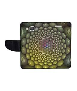 KolorEdge Printed Flip Cover For Samsung Galaxy A5 Multicolor - (50KeMLogo11790SamA5)