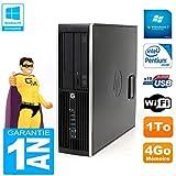 HP PC Compaq Pro 6200 SFF Intel G840 RAM 4GB 1To DVD-Brenner WiFi W7