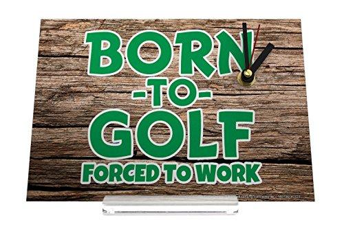 orologio dello scrittorio Retro Déco Nato a golf Decorativa