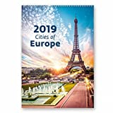 Kalpa L'Europe 2019 Mensuel Calendrier Mural Belle Agenda Organisateur Pour Calendriers Muraux Pour Bureaux À Domicile 2019