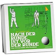 Geschenkbox mit Buch: DIE GOLFBOX: NACH DER RUNDE IST VOR DER RUNDE
