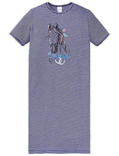 Schiesser Mädchen Nachthemd 1/2, Weiß (Weiss 100), 152 (Kurzarm Mädchen Nachthemd)