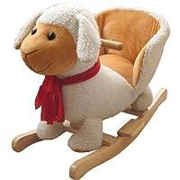 Forever Speed Baby Rocking Horse Kids Animal Rocking Horse Toys Children Toddler toy, Animal Sound design with Soft Seat