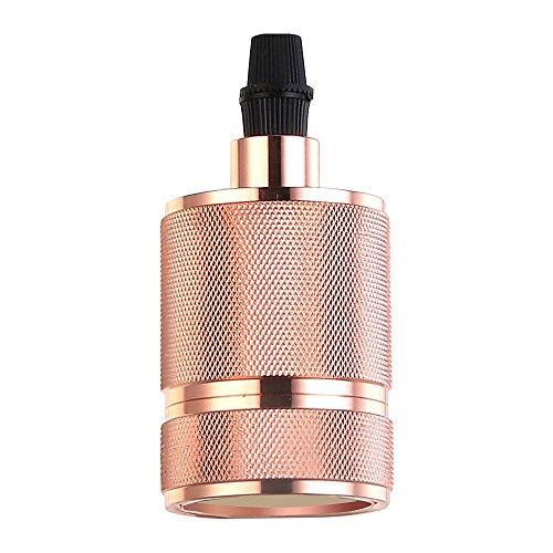 Sockets Antike Lampe (Splink Vintage E27 Lampenfassung Retro Deckenfassung Socket Lampenfuss Halter für DIY Hängeleuchte Deckenleuchte)