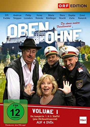 Oben ohne, Vol. 1 / Die komplette 1. & 2. Staffel (plus Weihnachtsspecial) der österreichischen Kultserie (Pidax Serien-Klassiker) [4 DVDs]