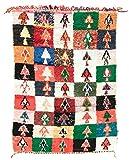 Trendcarpet Tappeto Berberi dal Marocco Boucherouite 185 x 130 cm