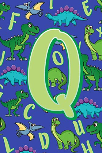 Q: Dinosaur Alphabet Practice Writing Book for Kids -