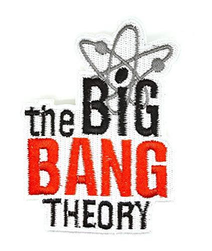 Aufnäher Bügelbild Aufbügler Iron on Patch The Big Bang Theory 10 cm