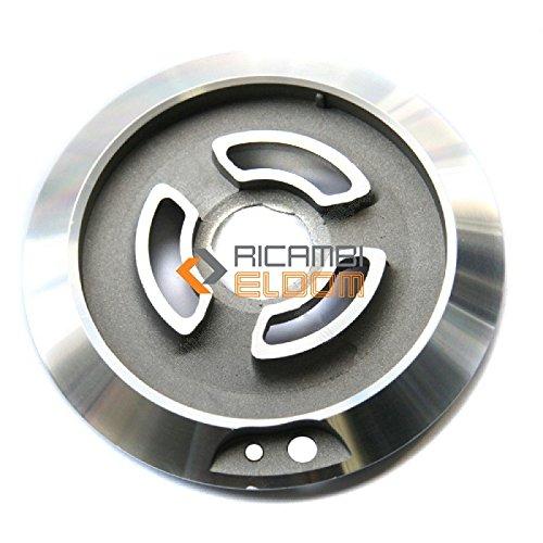 BRUCIATORE ORIGINALE 870650142 SMEG WHITE WESTINGHOUSE CORONA GIGANTE 2 FORI X PIANETTO X MOD. SR804ADS1 870650452, 870