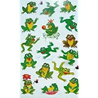 Frog Frogs Stickers Kids Labels for Craft Decoration Card-Making