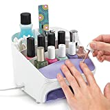 Polder Products Nail Station, White, 39 x 25 x 29 cm