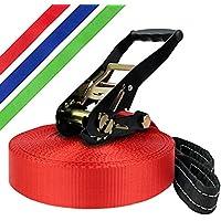 Slackline 30 m Adventure (Cargas hasta 3 toneladas) por BB Sport, Color:rojo