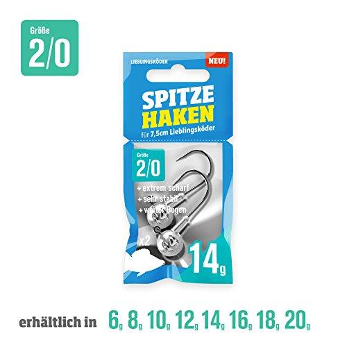 Spitze Haken 2/0 (8g) (Haken Spitzen)
