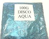 100G DISCO AQUA GLITTER NAIL ART CRAFT FLORISTRY WINE GLASS