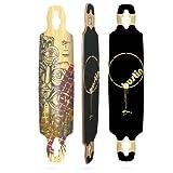 Bustin Boards Mission 40 Bamboo Hybrid Longboard Skateboard Deck