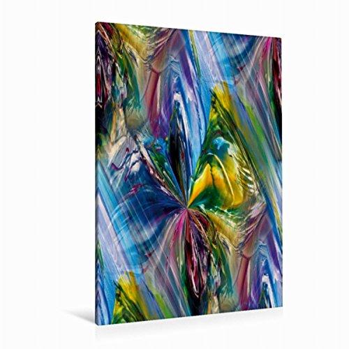 Premium Textil-Leinwand 80 cm x 120 cm hoch schimmernde Seide   Wandbild, Bild auf Keilrahmen, Fertigbild auf echter Leinwand, Leinwanddruck (CALVENDO Kunst) (Seide 120)