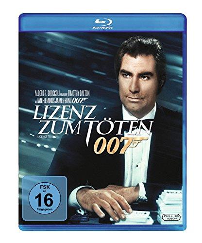 Bild von James Bond - Lizenz zum Töten [Blu-ray]