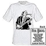 Neil Young - Tour - Official Mens T Shirt White