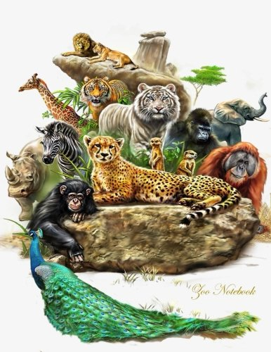 Zoo Notebook: Diary Journal, College Ruled, 100 Pages/ lined paper, Jungle Notebook (Leopard Notebook) (College Zoo)