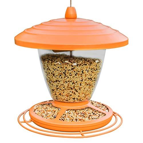 JXXDDQ Mangeoire à Oiseaux Orange Feeder Bird Feeder Manger, Fournitures extérieures pour Oiseaux