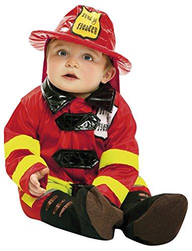 Imagen de my other me  disfraz de bebé bombero, 0 6 meses viving costumes 203289