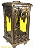 Grablaterne Jena Bronze pat., Höhe 26 cm