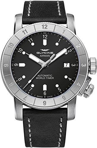 Glycine Airman 42 Double Twelve orologi uomo GL0063