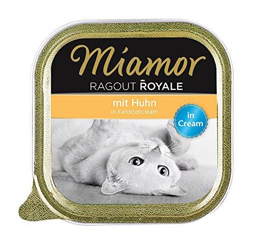 Miamor Ragout Royale in Cream Huhn in Karottencream, 16er Pack (16 x 100 g)