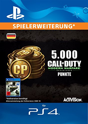 Call of Duty: Modern Warfare Remastered 5000 Points Edition [PS4 Download Code - deutsches Konto]