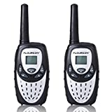 FLOUREON PMR Funkger�t 8 Kan�le Walkie Talkies 2-Wege Radio Walki Talki Funkhandy Interphone mit LCD Display Silber Bild