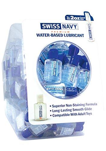 SWISS NAVY Mini in einem Goldfischglas - Wasserbasis