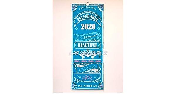 CALENDARIO LE STORDITE 2020 45x16,5 cm.