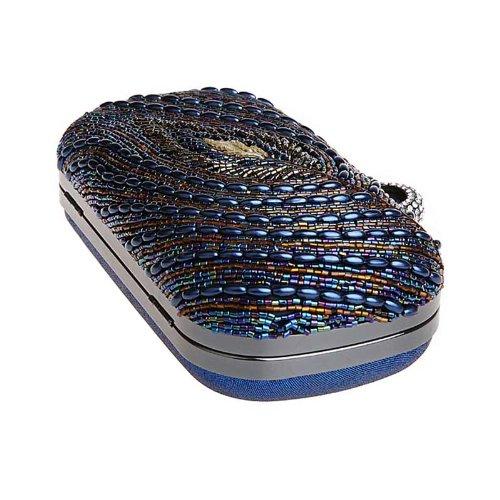 KAXIDY Lady Ragazza Vogue Borsetta Pochette Tracolla Spalla Frizione Borse Partito Borsa Blu