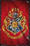 "Harry Potter ""Hogwarts Flag"" Maxi Poster, 61 x 91.5 cm"