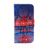 JGNTJLS iPhone 5/5S/SE Leather Case[Free Tempered Glass Screen Protector] Stylish,Colorful Pattern Design,Flip PU Leather Wallet Card Slot Stand Case Cover For Apple iPhone 5/5S/SE 4.0