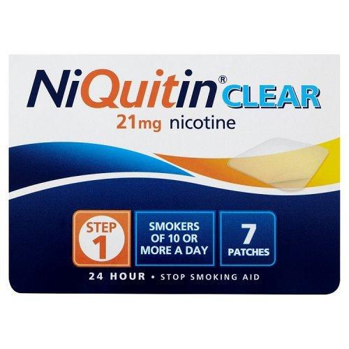 Niquitin Clear 21mg Step 1 7 Patches [Badartikel]