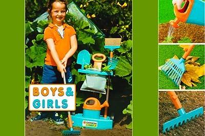 Gardena Kinder Gartentrolley Gartengeräte - 8tlg