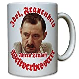 Idol, Frauenheld und Weltverbesserer! Alfred Tetzlaff ein Herz und eine Seele Alfred Humor Spaß Fun Portrait Foto - Tasse Becher Kaffee #9946 t