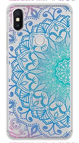 Tumundosmartphone Funda Gel Transparente para XIAOMI REDMI S2 diseño Mandala Dibujos