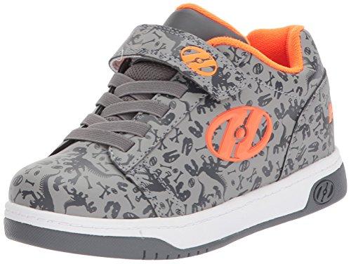 Heelys X2 Dual Up Schuhe grau-orange grau-orange, 34 (Grau Heelys Schuhe)