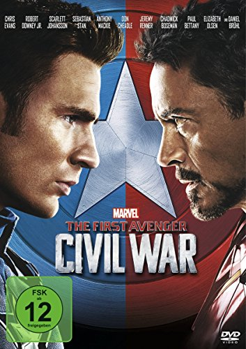 The First Avenger: Civil War (Scarlett-der Film Dvd)