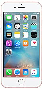 Apple iPhone 6s Smartphone (11,9 cm (4,7 Zoll) Display, 64GB interner Speicher, IOS) rosegold, Freigesetzter Version
