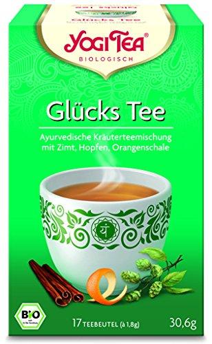 Yogi Tee BIO Glückstee, 17 Btl. à 1,8g