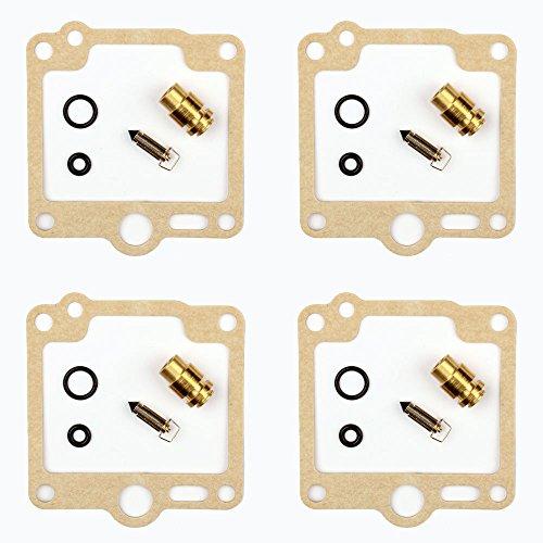 4x Carburateur Kits de réparation Joint Pointeau convient pour Yamaha FJ 1100 1200 XJ 600 900