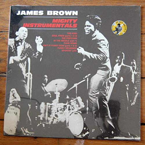 MIGHTY INSTRUMENTALS - JAMES BROWN [VINYL] (Instrumentals James Brown)
