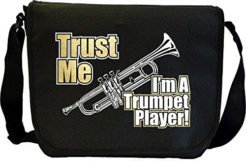 Trumpet Trust Me - Sheet Music Document Bag Musik Notentasche MusicaliTee