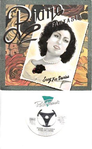 PIANO FANTASIA / SONG FOR DENISE / Bildhülle / Rush Records # 108121-100 / Deutsche Pressung / 7