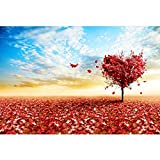 Puzzle House- Tree of Love, Jigsaw Puzzle in legno di tiglio, Perfect Cut & Fit, 500/1000/1500/2000/2700/3000/3700/5000 Puzzle in scatola di pezzi Giocattoli Gioco Art Painting Per adulti e bambini -4