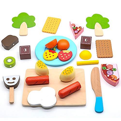 Yoptote Montessori Juguetes Frutas Verduras Juguete
